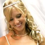 Свадебные прически 66