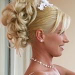 Свадебные прически 68