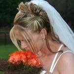 Свадебные прически 54