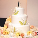 Свадебный торт 50