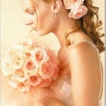 Свадебные прически 86