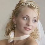 Свадебные прически 56