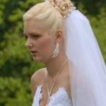 Свадебные прически 52