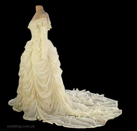Свадебное платье из парашюта