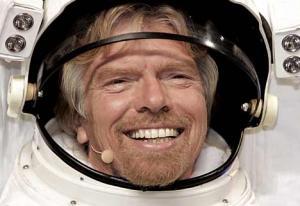 Ричард Брэнсон в космосе