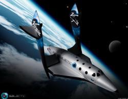 Ракетоплан компании Virgin Galactic.