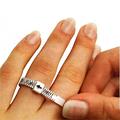 Подгонка обручального кольца под размер